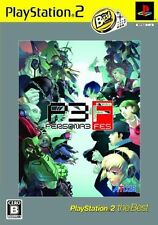 Used PS2  ATLUS Persona 3 Fes  SONY PLAYSTATION JAPAN IMPORT