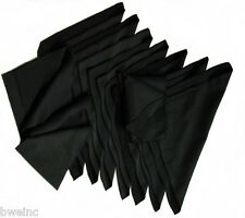 Watch Buffing Aid  Horosafe Buffing Cleaning Cloth Kit - Lot of 12 Cloths  BLACK