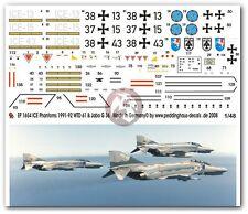 Peddinghaus 1/48 German F-4F Phantom II Markings ICE Program (3 versions) 1654