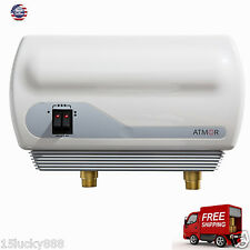 Instant-Hot-Water-Heater-Electric-Tankless-On-Demand-House-Shower-Sink-RV-110V