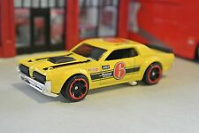 Hot Wheels '68 Mercury Cougar - Yellow - Loose - 1:64 - Exclusive