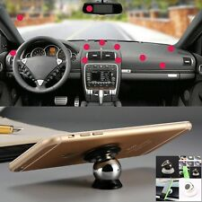 360 Rotation Magnetic Mobile Car Dash Holder For Samsung Galaxy Tablet  Phone UK
