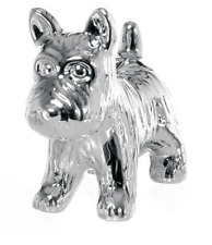 NEW CHILDREN'S MONOPOLY STYLE SILVER DOG MONEY BOX PIGGY BANK CASH SAVING BOX