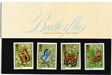 M1312dmsA5lc 1981 GB UK Butterflies British Stamp pack