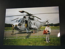 Photo Westland WS-61 Sea King HAS6 Royal Navy Open Dag KLu Vlb Gilze-Rijen 1997