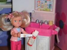 Rement Tooth Paste Barbie Tooth Brush fits Fisher Price Loving Family Dollhouse