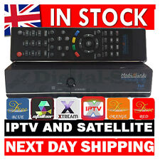 MEDIALINK ML1100 SATELLITE AND IPTV HD SET TOP BOX + APPS XSTREAM STALKER WIFI