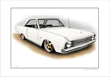 VALIANT  VF HARDTOP COUPE V8 REGAL  LIMITED EDITION CAR PRINT AUTOMOTIVE ARTWORK