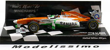 1:43 Minichamps Force India F1 Team Show Car Resta 2012 ltd. 504 pcs.