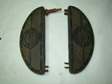 Harley Knucklehead Panhead floorboards old vintage foot boards EPS16863