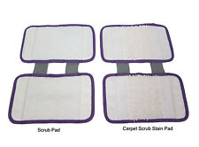 Replacement Pad Carpet Cleaning Pad Scrub  (2pc pack) for Shark Sonic Duo KD400W