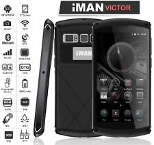 5'' 4G LTE iMAN Victor Dual Smartphone Waterproof Touch iD 3GB 32GB IP67 4800mAh