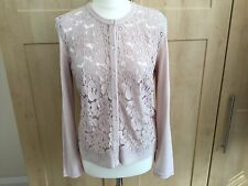 Marc Cain Lace Front Cardigan Size 16