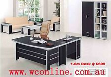 1.6m Modern Office Study Executive Desk |Ausmart| free delivery within Melbourne