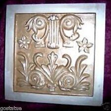 Gostatue mould plaster,concrete abs plastic victorian tile mold