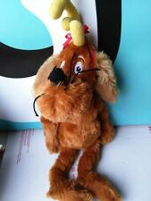 "Dr. Seuss How The Grinch Stole Christmas Max The Dog Plush 13"" Floppy and Soft"