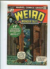 Weird Wonder Tales #4 It Lurks Behind The Wall  Very Good To Fine  CBX12