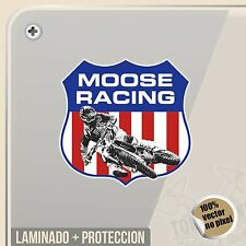 PEGATINA KIT MOOSE RACING SHIELD ESCUDO DECAL VINILO VINYL STICKER DECAL ADESIVI