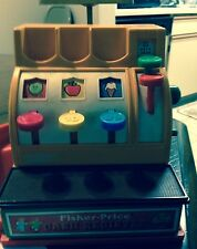 VINTAGE PLASTIC TOY CASH REGISTER