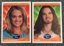 AMERICAN IDOL SEASON 4 2005 FLEER BASE CARD SET CARRIE UNDERWOOD (80 Cards)