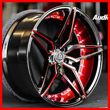 """20"""" M3259 wheel BLACK AND RED FIT G35 G37 350Z 370Z MUSTANG"""