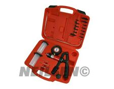 Hand Held Vacuum Pump Test Brake Bleeding Car Garage Tool Kit Bleeder Set CT3258