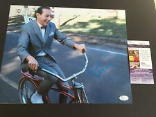 PEE WEE HERMAN signed 11X14 Photo Paul Reubens BIKE Pee-Wee's Big Adventure JSA