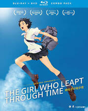 The Girl Who Leapt Through Time (Blu-ray/DVD, 2016, 3-Disc Set)NEW WITH SLIP