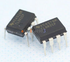 10PCS TL082 IC TI DIP 8 JFET-INPUT OPERATIONAL AMPLIFIERS