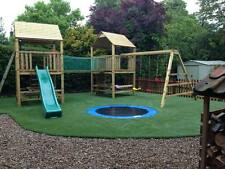 Commercial Double 6ftsq Top Quality WOODEN CLIMBING FRAME RRP £2395 Now Reduced