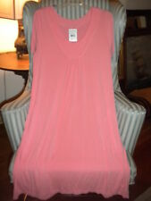 NWT FRESH PRODUCE ISLAND SAVVY DRESS  IN MELON BLISS ...FLATTERING STYLE. (L)