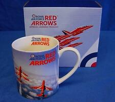 OFFICIAL ROYAL AIR FORCE RED ARROWS BONE CHINA MUG - CONCORDE FORMATION RAF 258