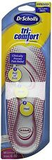 Dr. Scholls Insoles Tri-Comfort Orthotics Womens UK 3.5-7.5 (US 6 -10) free P p