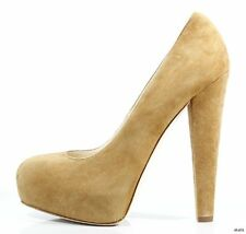 NIB $675 BRIAN ATWOOD 'Power' suede platforms pumps shoes 37 US 7 - amazing