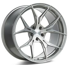 Rohana 19x8.5  RFX5 5x120 +20 Brushed Titanium Rims (Set of 4)
