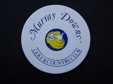 MURRAY DOWNS GOLF & COUNTRY CLUB COASTER