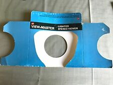 Vintage Sawyer View-Master Lighted Stereo Viewer unused packaging A