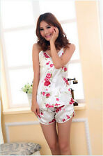 NEW style Floral Sleepwear Braces Shirts  Shorts Underwear Pajamas for women new