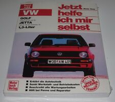 Reparaturanleitung VW Golf 2 Typ 19E + Jetta II C / CL / GL 1,3 Liter 55 PS NEU!