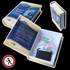 BUCHSAFE Tresor Buchtresor Buch Geldkassette Safe Buchattrappe Geldversteck NEU