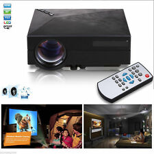 1000 Lumens HD LED Video Projector Home Cinema 3D Effect 1080P-HDMI Multimedia P