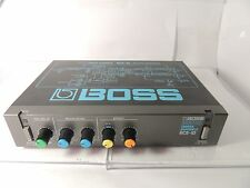 VINTAGE BOSS RCE-10 MICRO RACK CHORUS ENSEMBLE EFFECTS PROCESSOR MADE IN JAPAN