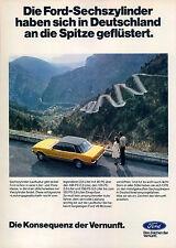 Ford-V6-Motor-1977-Reklame-Werbung-vintage print ad-Vintage Publicidad