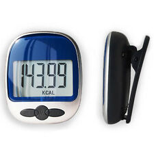 Hot Pedometer Calorie Counter Run Step Walk Digital Large LCD Display Fitness
