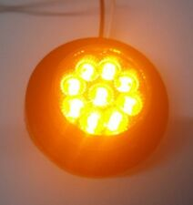 "2"" Grommet LED Light Amber/Amber to suit Trucks Western Star,Kenworth or Mack"
