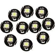 10x Red T4 T4.2 Neo Wedge 1-SMD LED Cluster Instrument Dash Climate Bulbs Newest