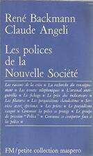 RENE BACKMANN/CLAUDE ANGELI LES POLICES DE LA NOUVELLE SOCIETE