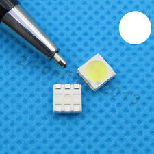 100pcs 5050 White PLCC-6 3chip Super bright SMD SMT LED Ultra Bright light