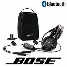 Bose A20 Aviation Headset - Battery Power - GA/Dual Plug - w/ Bluetooth