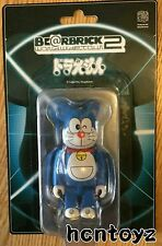 Ultra Rare MEDICOM BEARBRICK Be@rbrick 100% doraemon world wide tour 2 new BWWT2
